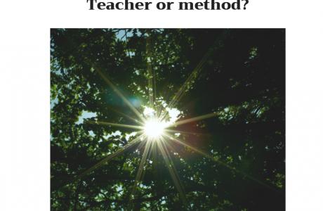 מורה או שיטה